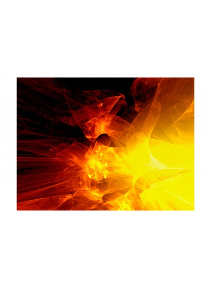Fotobehang - abstract - fire