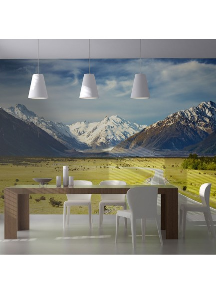 Fotobehang - Southern Alps, New Zealand