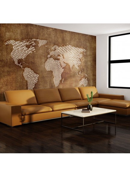 Fotobehang - Geographical discoveries