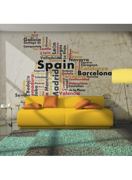 Fotobehang - Colors of Spain