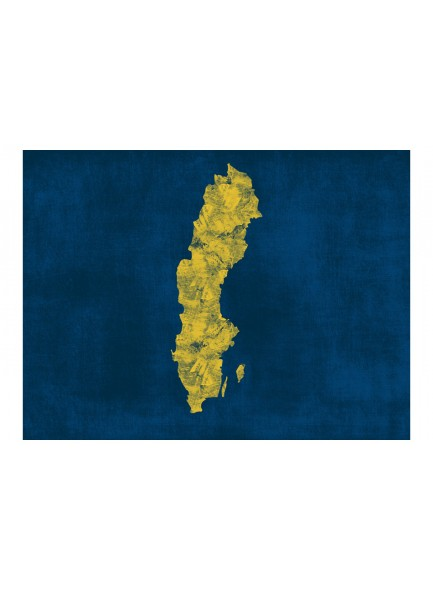 Fotobehang - map: Sweden