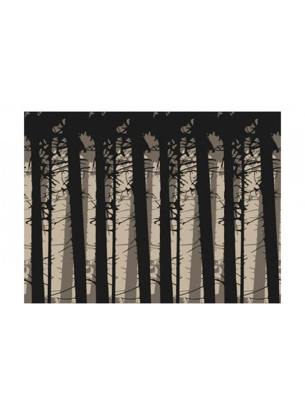 Fotobehang - Shadows of trees