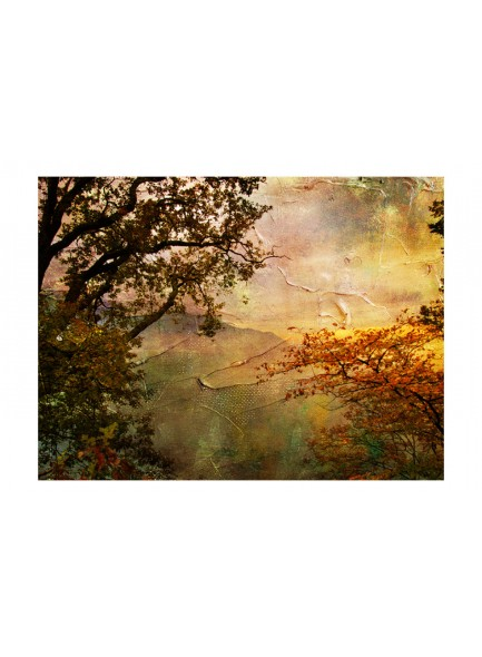 Fotobehang - Painted autumn