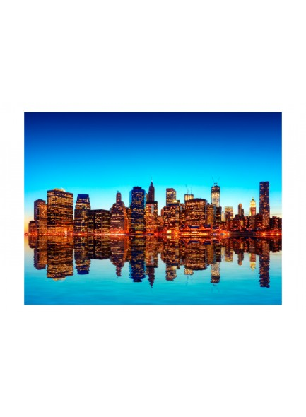 Fotobehang - Skyline of New York from the water