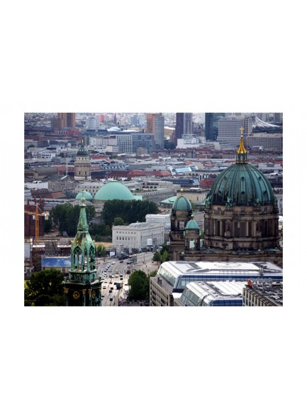 Fotobehang - Berlin - bird's eye view