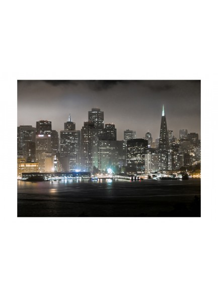 Fotobehang - San Francisco by night