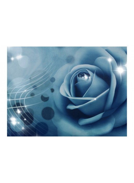 Fotobehang - Blue rose