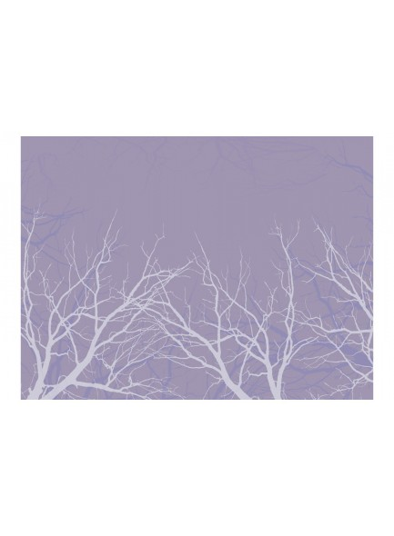 Fotobehang - Iced branches