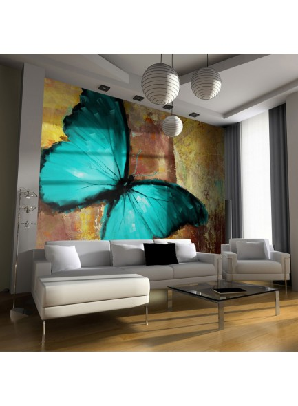 Fotobehang - Painted butterfly