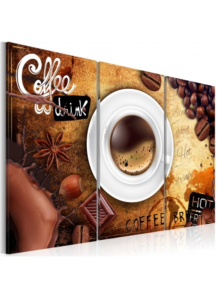 Foto schilderij - Cup of coffee