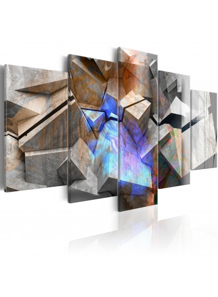 Foto schilderij - Abstract Cubes