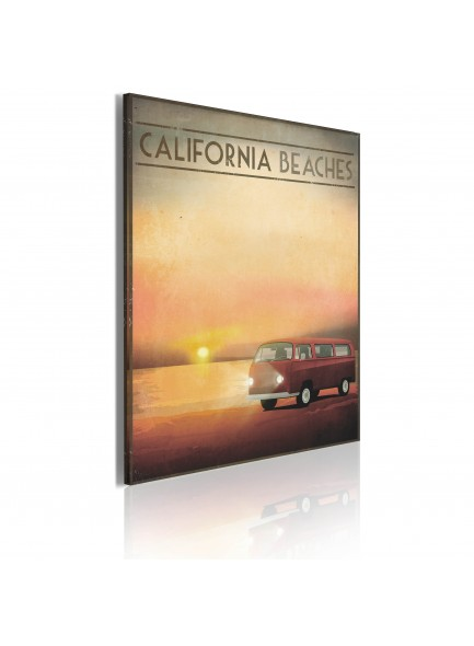 Foto schilderij - California beaches