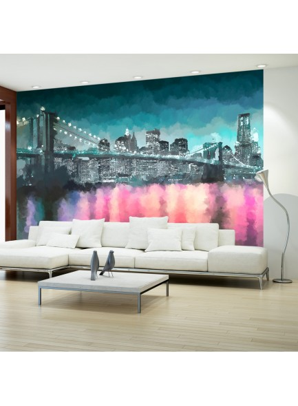 Fotobehang - Painted New York