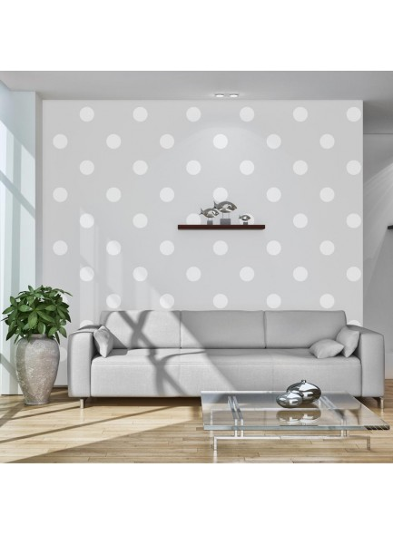 Fotobehang - Cheerful polka dots
