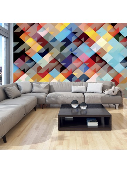 Fotobehang - Colour Patchwork