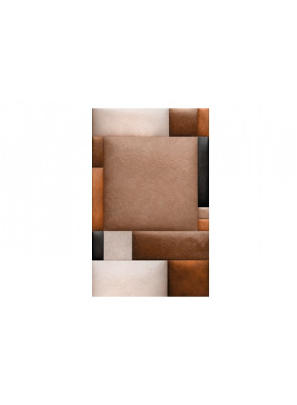 Fotobehang - Leather blocks