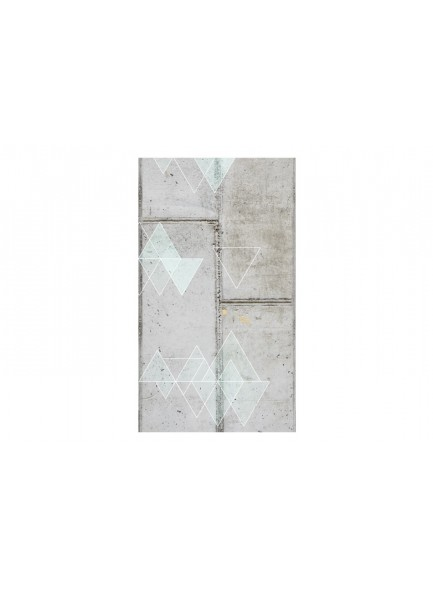 Fotobehang - Concrete and Triangles